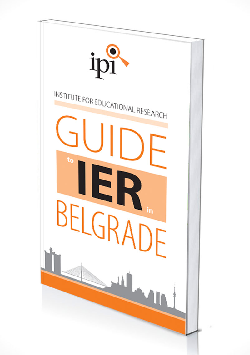 GUIDE TO IER in Belgrade